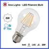 Wholesale led filament bulb cheap price A60 e27 AC80-265V 8w led filament