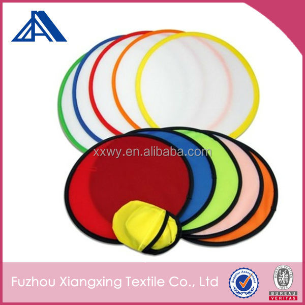 Wholesale custom printed foldable frisbee with pouch