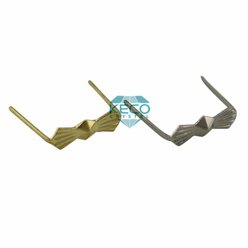 Brass Bow tie hooks for crystal chandelier parts and octagon ...