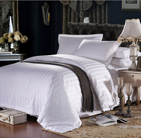 Luxury 100% Cotton 4 Pcs Hotel Bedding Sets With Factory Price