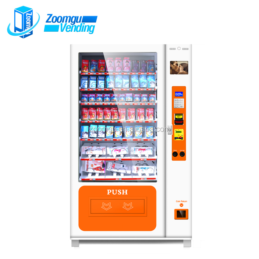 durex condom vending machine with screen function