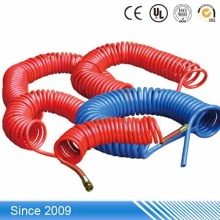Top Sale High Pressure Pneumatic PU Rubber Yellow Flexible Gas Hose