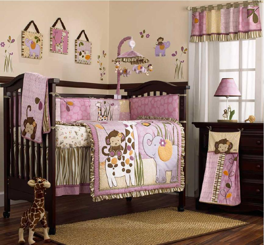 Monkey Design 100-percent Cotton Hand Quilted Baby Quilts With ...