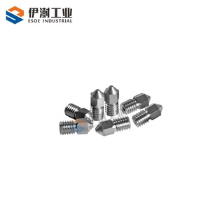 high hardness carbide nozzle customized size tungsten carbide 3D printing nozzle with competitive price