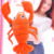 New design cartoon stuffed lobster plush toys big size animal shaped pillow
