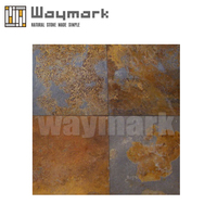 natural stone rusty slate tile