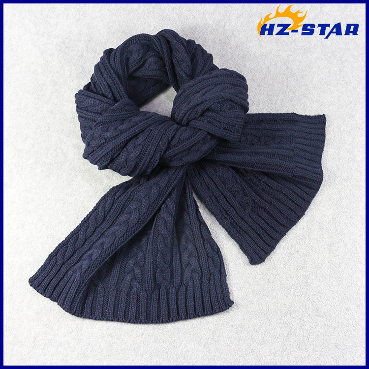 HZW-16010003 wholesale women classic twilled knitted korea pashmina scarf