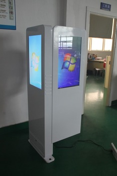 27inch Dual Screen All In One China Kiosk Manufacturer
