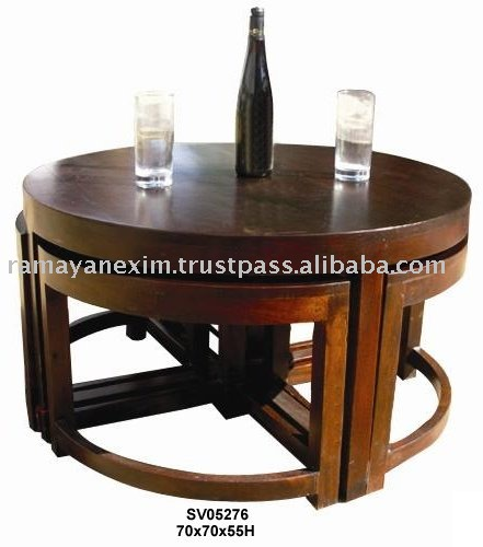 coffee table,round table,sheesham wood furniture