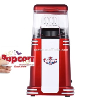 Mini Retro Hot air popcorn maker