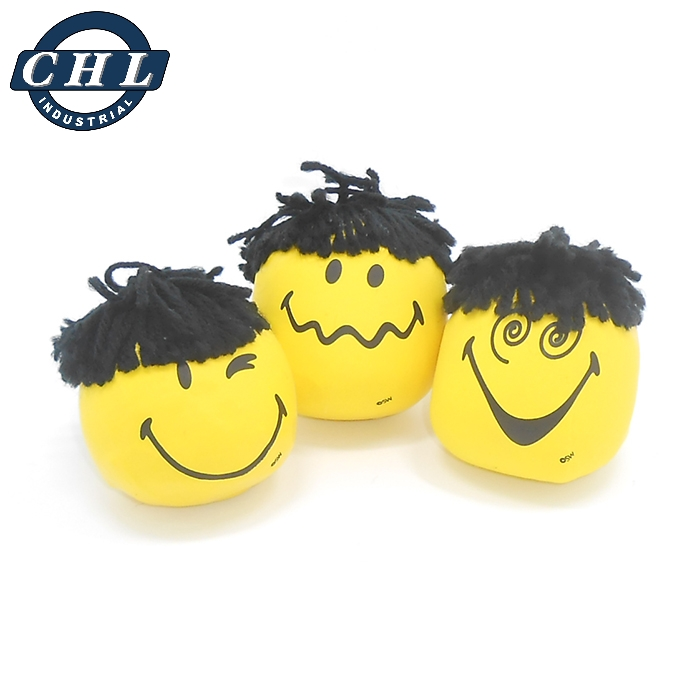 6 EMOJI KICK BALL HACKY SACK BALL AND 6 EMOJI SPLAT BALLS 12 BALLS TOTAL PACKAGE