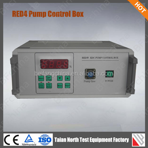 RED4 Electronic control in line fuel pump tester