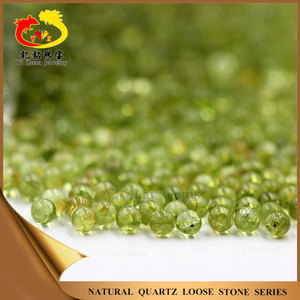 Wholesale Chinese natural peridot olivine gemstones loose beads