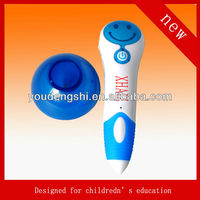2013 new fashion Spirit Kid Electronic talking pen ,Promotion Baby Toys