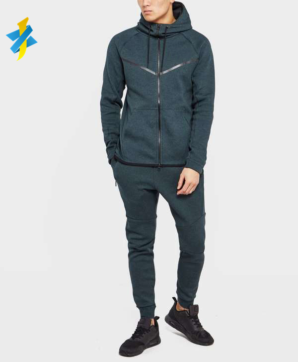 Oem Hoge Kwaliteit Tech Fleece Training Slim Fit Heren Trainingspak