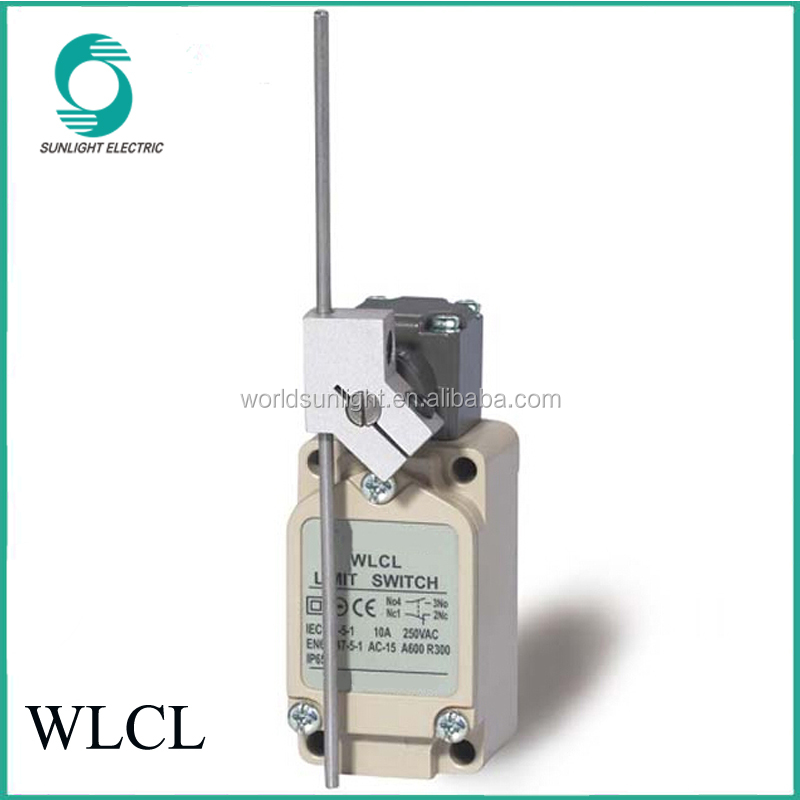 CCC approved 1NC1NO WLCL flexible rod 10a winch limit switch