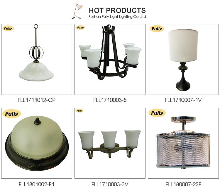 Contemporary decorative per interni lampada a sospensione a soffitto