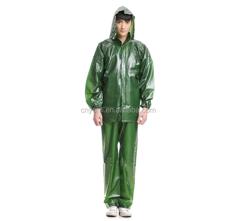 Adult Waterproof Clear Raincoat Women In Plastic Raincoats