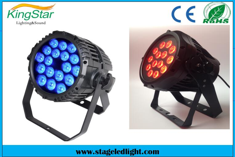 3-Year Warranty 18*10W QUAD Professional Stage LED Par Light With Zoom