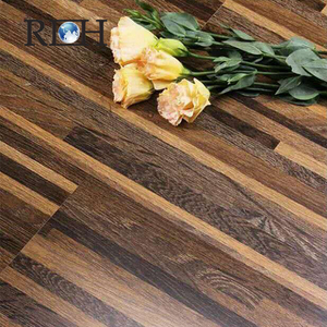 Durable click lock waterproof and healthy wood texture pvc flooring