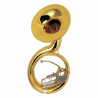 Brass Wind Instrument Professional Sousaphone for sale