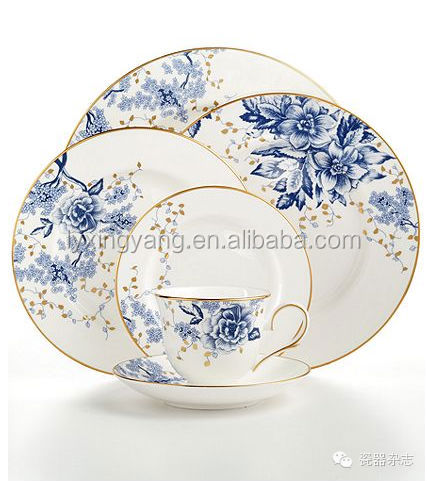 fine bone china dinner set,bone china dinner set,high quality dinner set