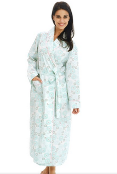6950c448a4 Lr Women s 100% Cotton Lightweight Bathrobe Robe - Buy 100% Cotton ...