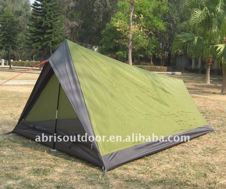 Waterproof used military style canvas tents for 2 persons