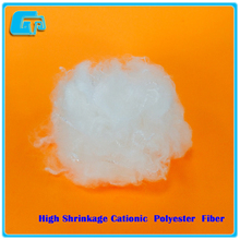 high shrinkage cationic polyester fiber, 2DX51MM