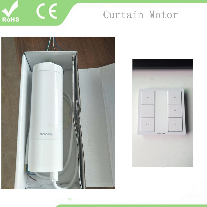 Electric Curtains Intelligent Home Automation Remote Control Curtain Motor