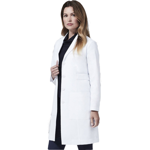 Wholesale Factory Price Adult Professional White Nurse Uniforms Medical Designs Doctor White Lab Coat Doctor Gown For Hospital
