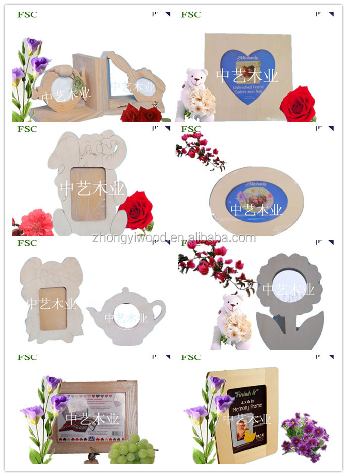 customized wall deco photo frame/ picture frame set