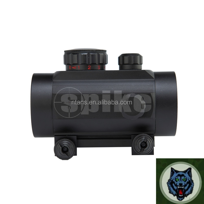 1x40mm scope Dual-Color Reticle Red Dot scope