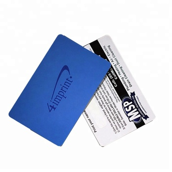 Customized professional plastic pvc id card