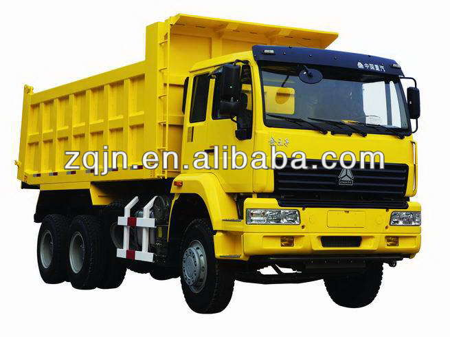 Man Diesel Engine 30 Ton Sino 6*4 10 tires tipper truck