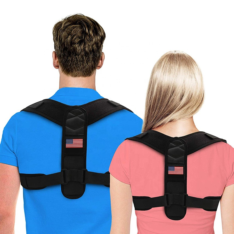 High quality ready to ship premium professional upper lumbar back support posture corrector