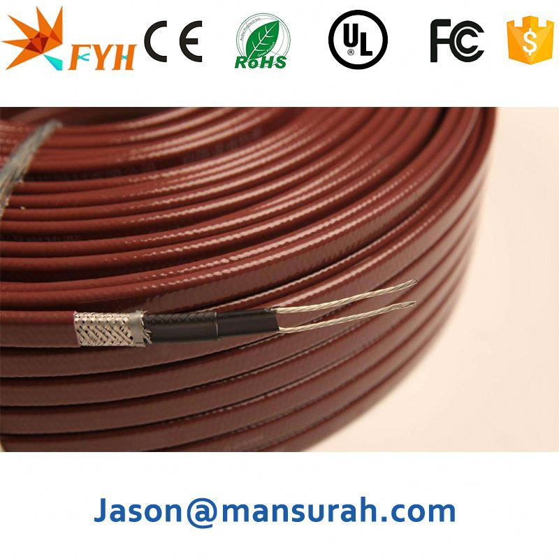 Teflon,<strong>PE</strong>,PVC,Polyolefin Jacket and Polyolefin Insulation Material Electric heating cable