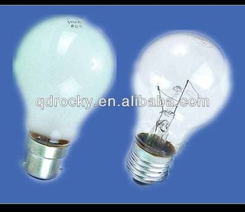 Clear Frosted Softwhite Milky E27 B22 Gls Common Light