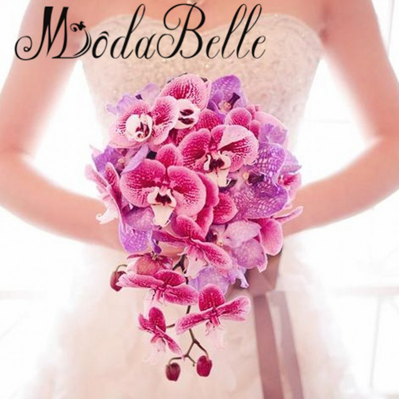online get cheap cascading wedding bouquets alibaba group. Black Bedroom Furniture Sets. Home Design Ideas
