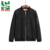 Factory supplier polyester black embroidery custom boy bomber jacket