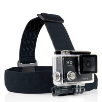 accessories Adjustable Elastic Chest Belt + Head Strap Mount strap with Plastic Buckle For 3 2 Accessories