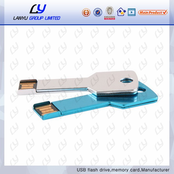 logo printing key shape usb flash drives 2gb,colorful metal key usb flash memory 2gb,thumb key chain usb drive 2gb