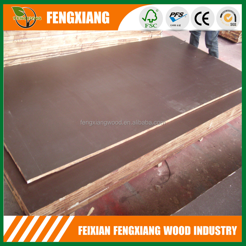 Linyi waterproof film faced plywood, 18mm marine plywood prices, building materials construction