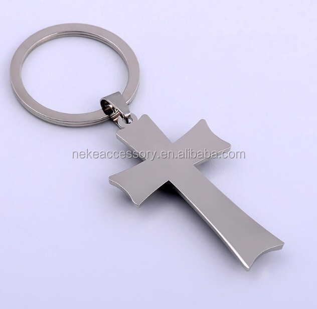 new arrival religious cross key chain Key Ring keychain