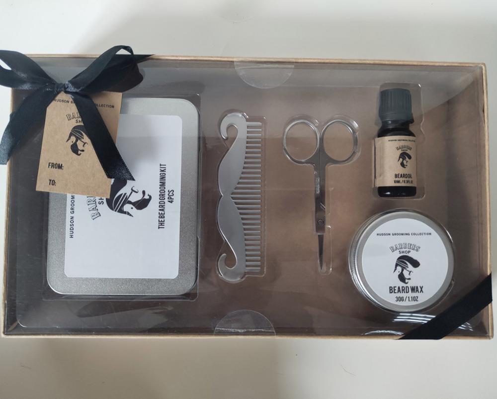 OEM quality private label Mens Beard Grooming Kit