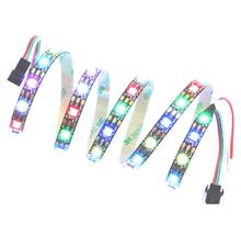 WS2801 WS2813 SK6812 Rgb pixel מחרוזת <span class=keywords><strong>led</strong></span> רצועת אור צבע חלום דיגיטלי קסם rgb <span class=keywords><strong>led</strong></span> רצועת chasing