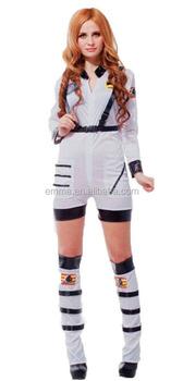 Ladies Best Quality Astronaut Suit Costume White Spaceman Fancy Dress Womens Nasa Jumpsuit Sex Cosplay Costume  sc 1 st  Alibaba & Ladies Best Quality Astronaut Suit Costume White Spaceman Fancy ...