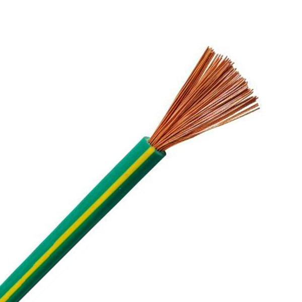 Yellow - Green Stranded Copper 25mm2 Grounding Cable - Buy Yellow ...