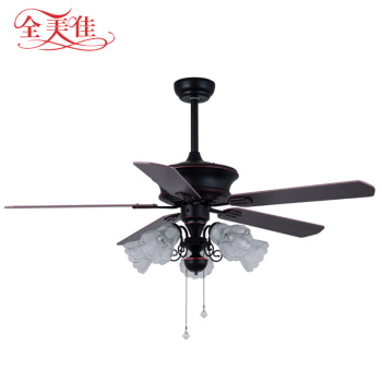Zhongshan 52 Inch Decorative Living Room Remote Control Inverter Air Cooling Fan