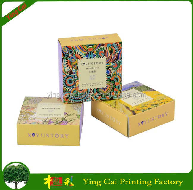 Small Size custom printed oem box sleeve For Bar Soap